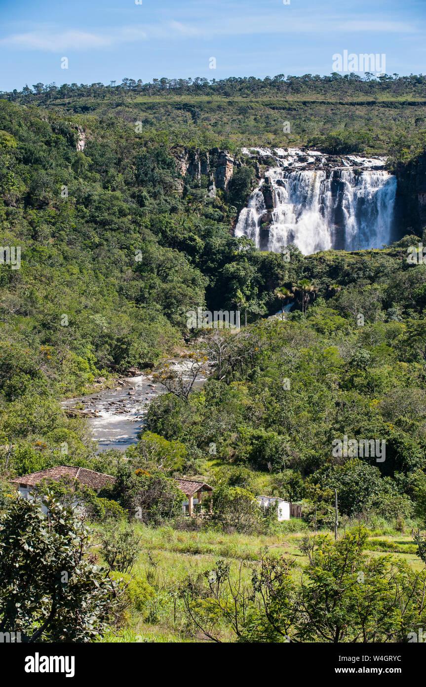Pirenopolis cascadas cerca de Corumbá, Goiás, Brasil Fotografía de stock - Alamy