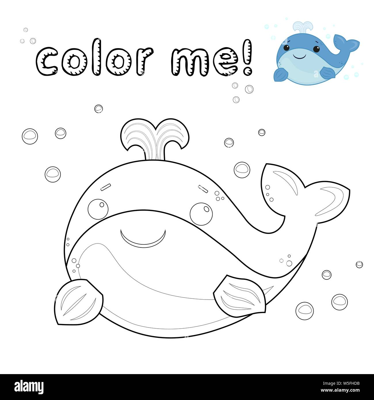 Cartoon Whale Imágenes De Stock Cartoon Whale Fotos De Stock