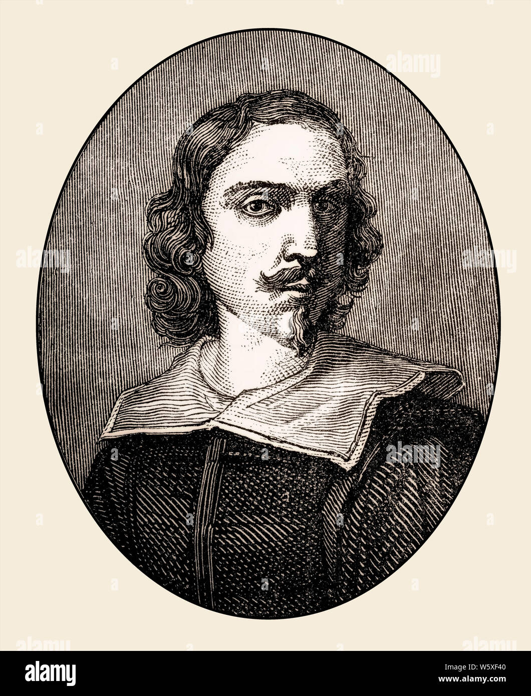 Francesco Albani o Albano, 1578 - 1660, un pintor barroco italiano Foto de stock