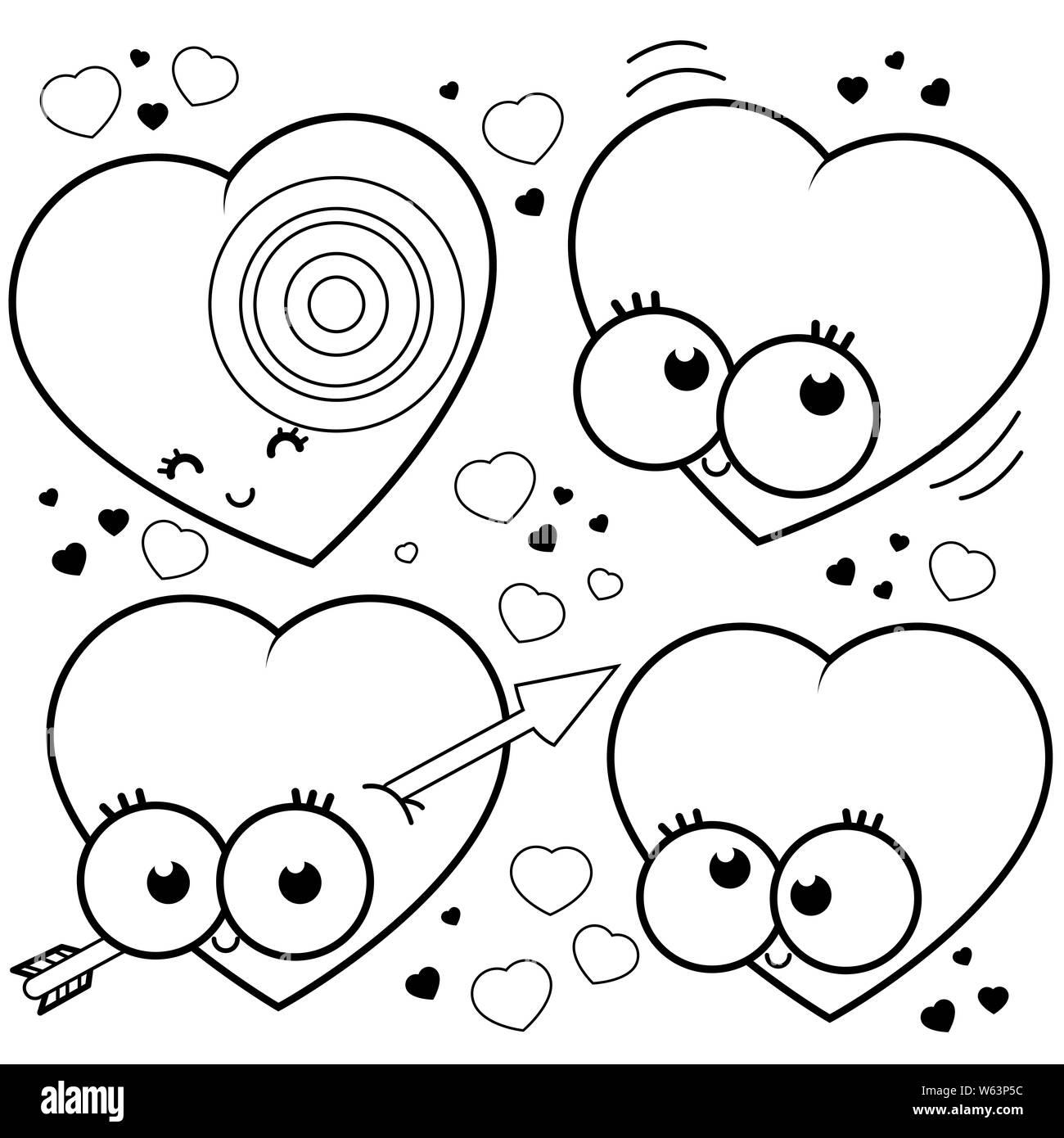 Amor De Dibujos Animados Imagenes De Stock Amor De Dibujos