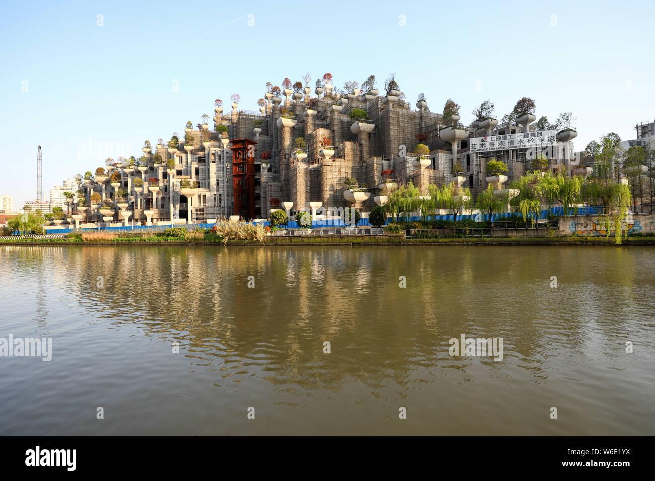 El Impresionante Edificio Con Forma De Jardines Colgantes De