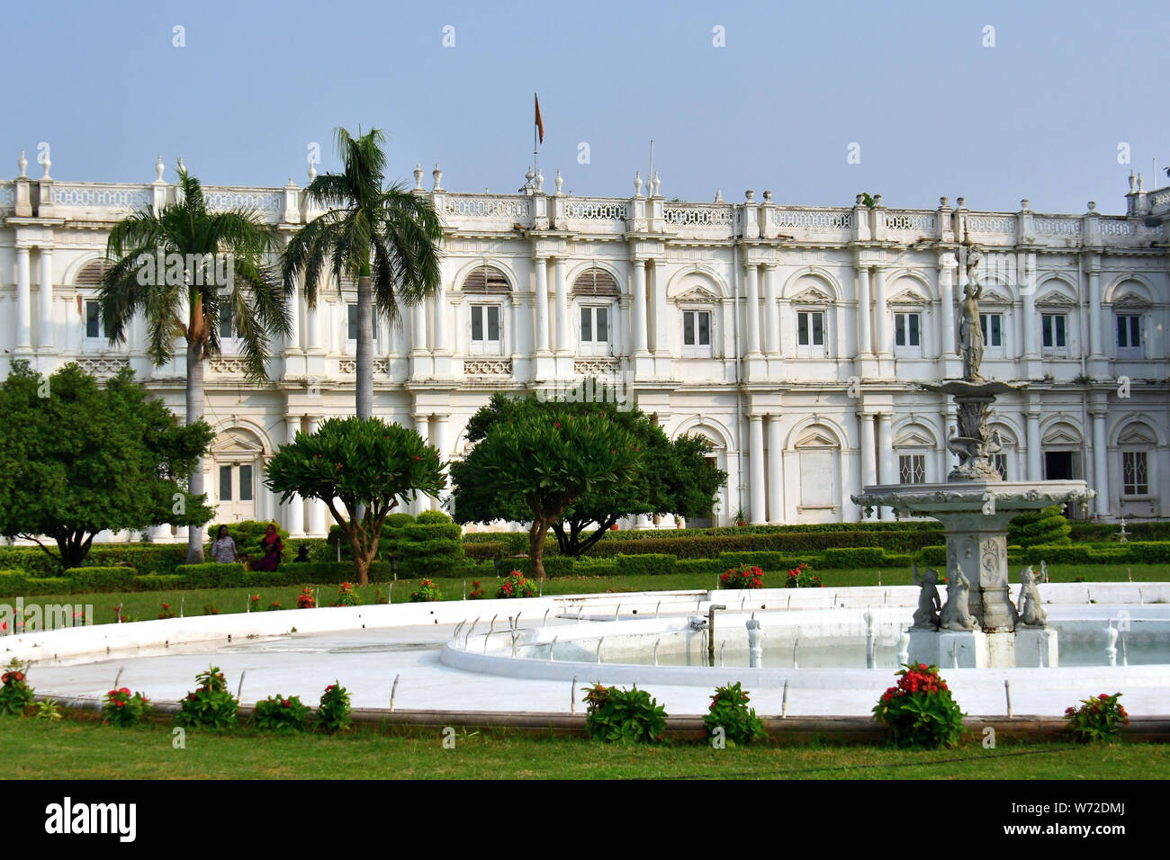 Jai Vilas Palace, Gwalior, India, Asia Foto de stock
