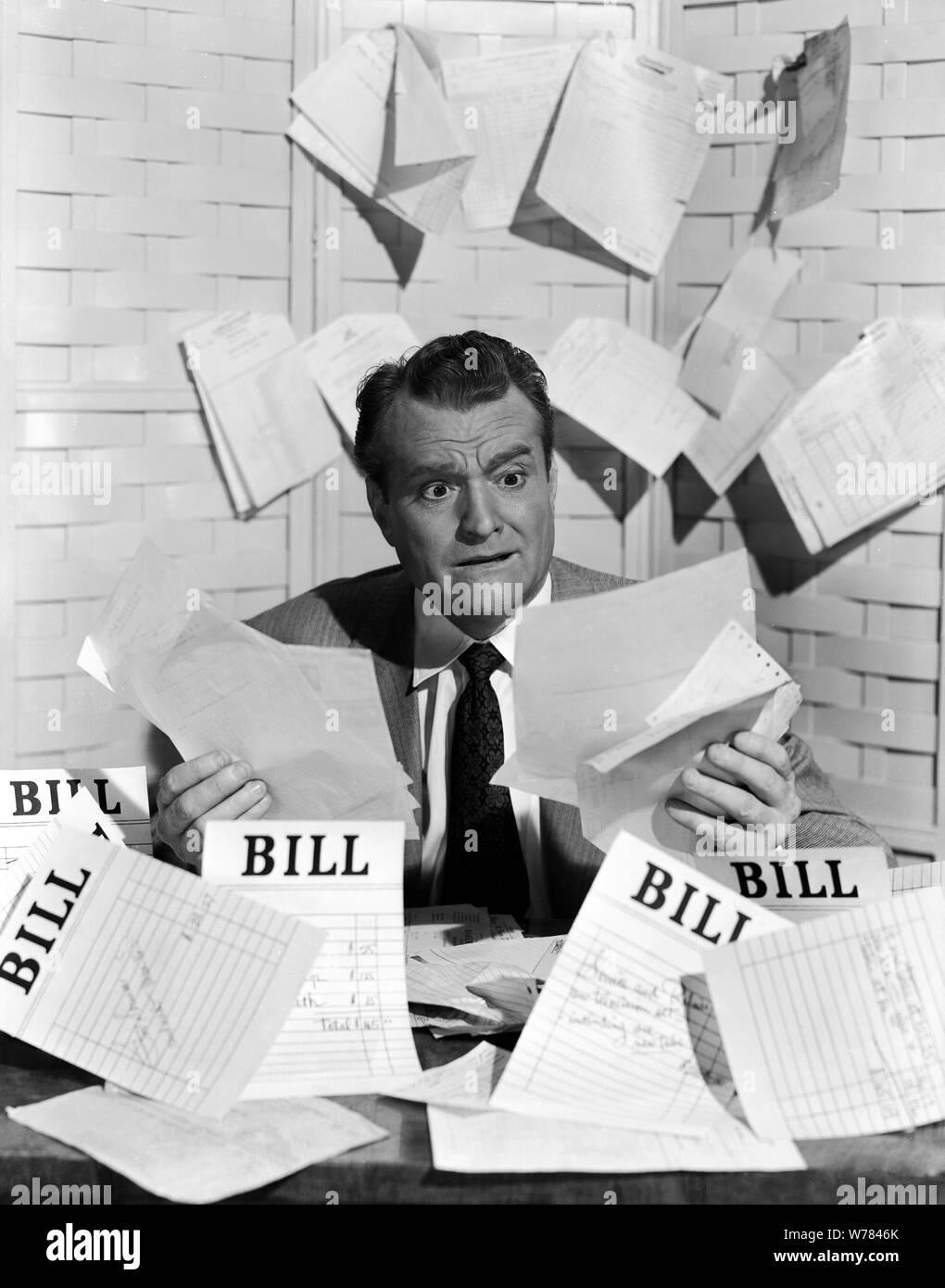 RED Skelton, la mitad de un héroe, 1953 Foto de stock