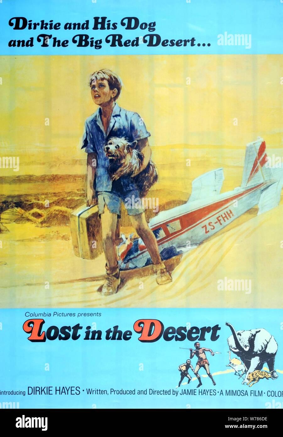 Póster De Película Perdido En El Desierto 1969 Fotografía De Stock Alamy