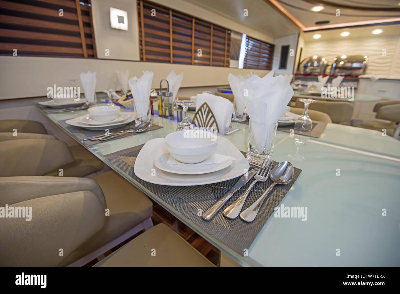 Mobiliario de diseño interior, la decoración del salón ...