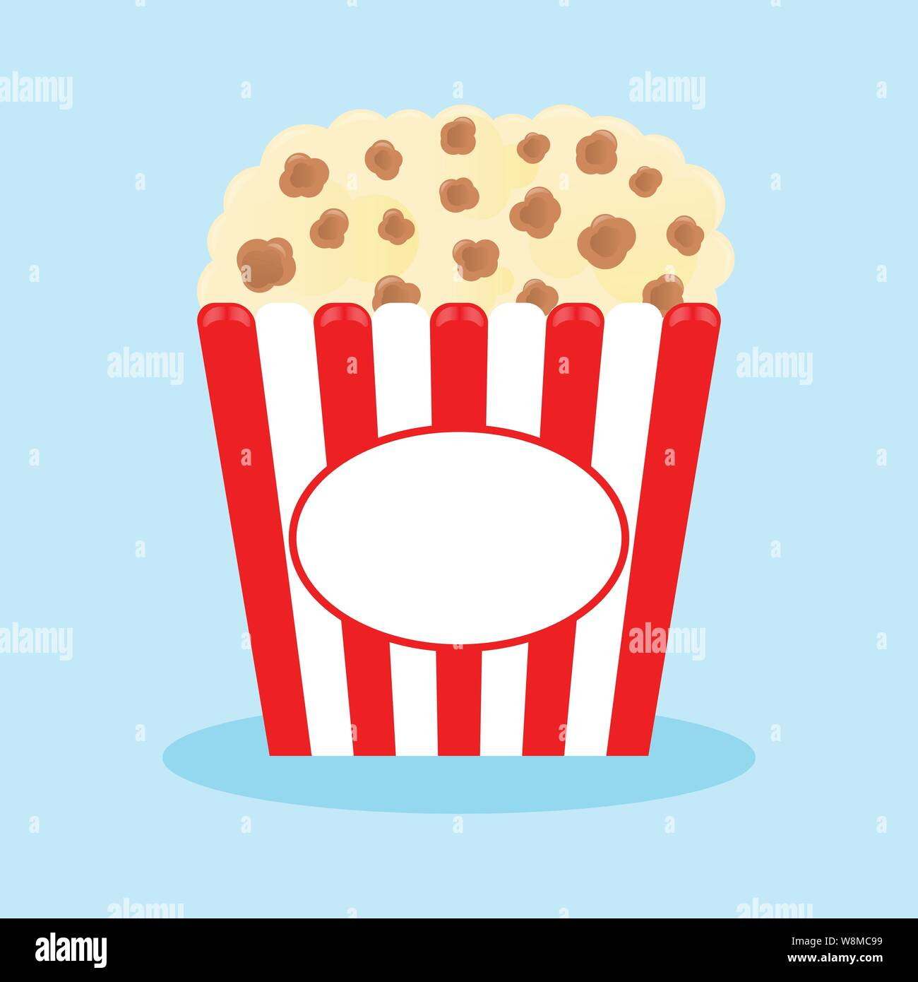 pizza//hot dog//popcorn Cajas Retro alimentos Partido contenedores Roja A Rayas De Colores