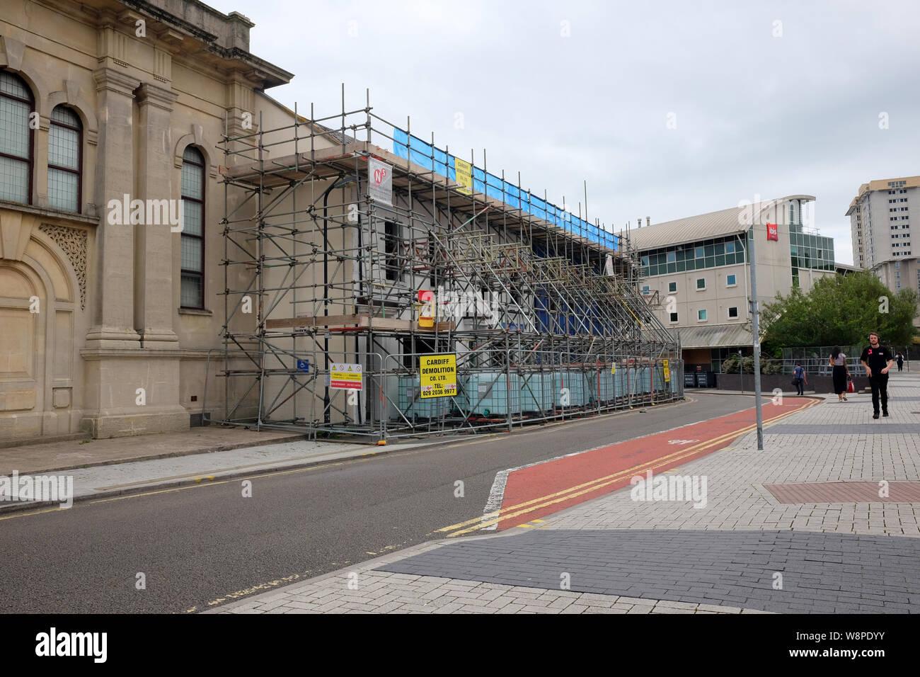 Agosto 2019 Demolición De Guildford Crescent Una Terraza