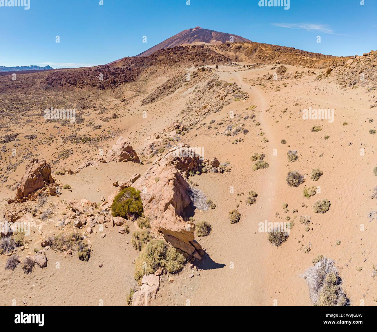 Minas de San Jose, El Teide, La Orotava, Santa Cruz de Tenerife, Islas Canarias, España Tenrife, 30071206 *** título Local *** paisaje, verano Foto de stock