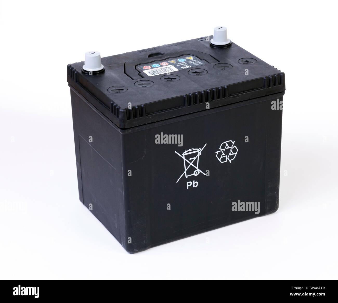 Alquiler de batería de plomo ácido Foto de stock