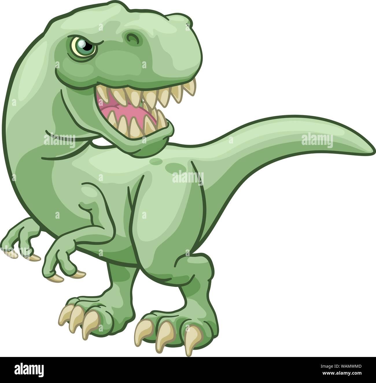 Tyrannosaurus Rex Dinosaurio T Personaje De Dibujos Animados Imagen Vector De Stock Alamy Como ya sabrás, los dinosaurios fueron animales gigantescos que habitaron la tierra mucho antes que nosotros y que se extinguieron. alamy