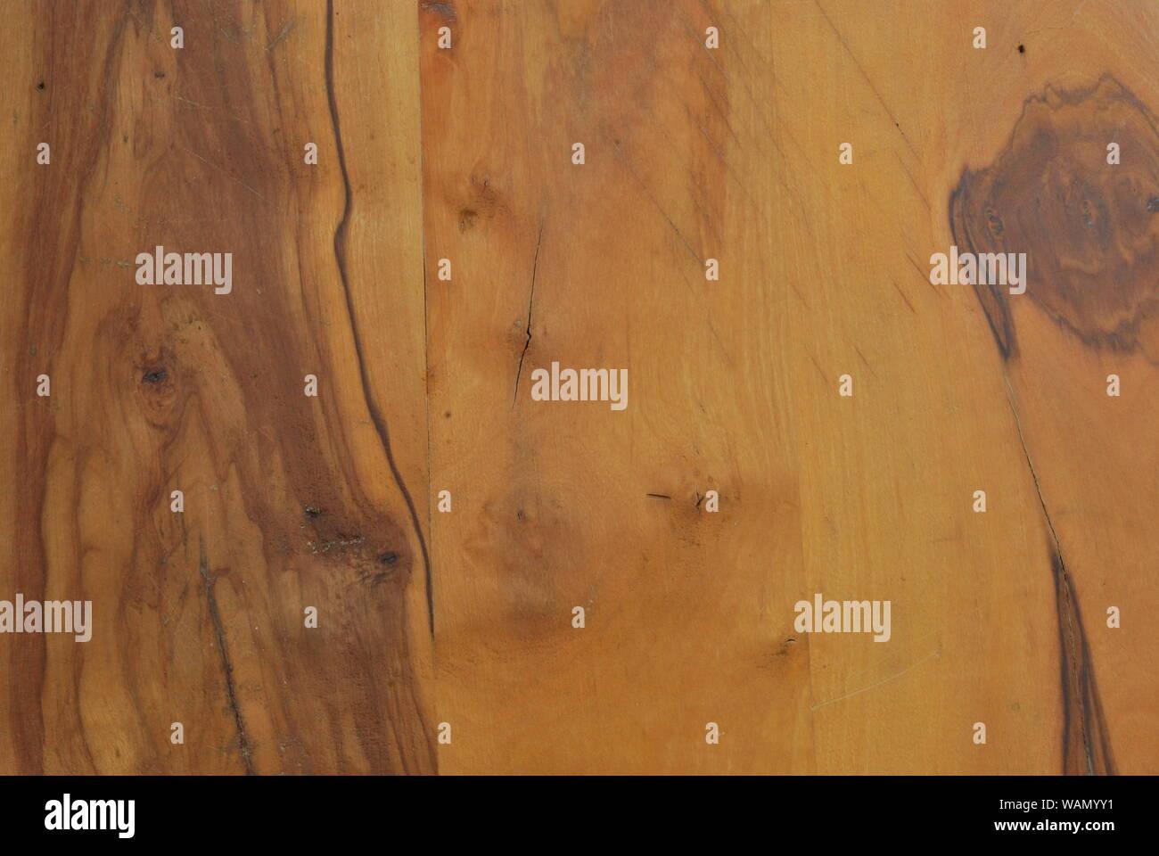 Sección de vetas de madera Foto de stock