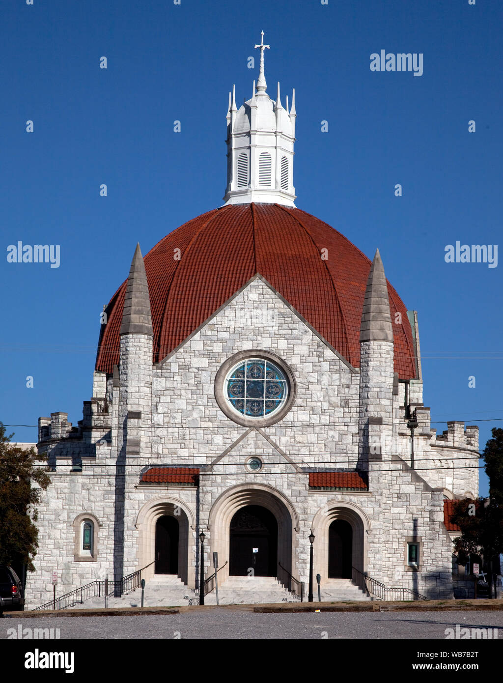 La Primera Iglesia Bautista, Montgomery, Alabama Foto de stock