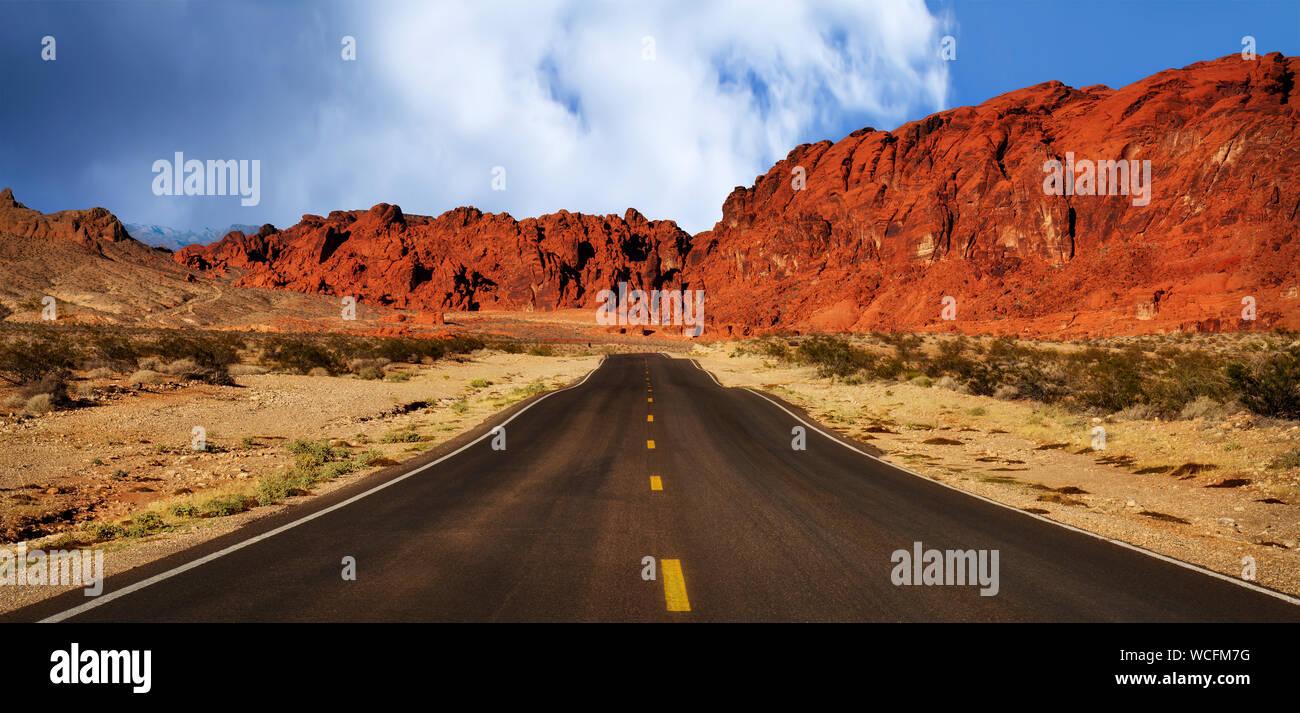 Vista panorámica del Camino Abierto Foto de stock
