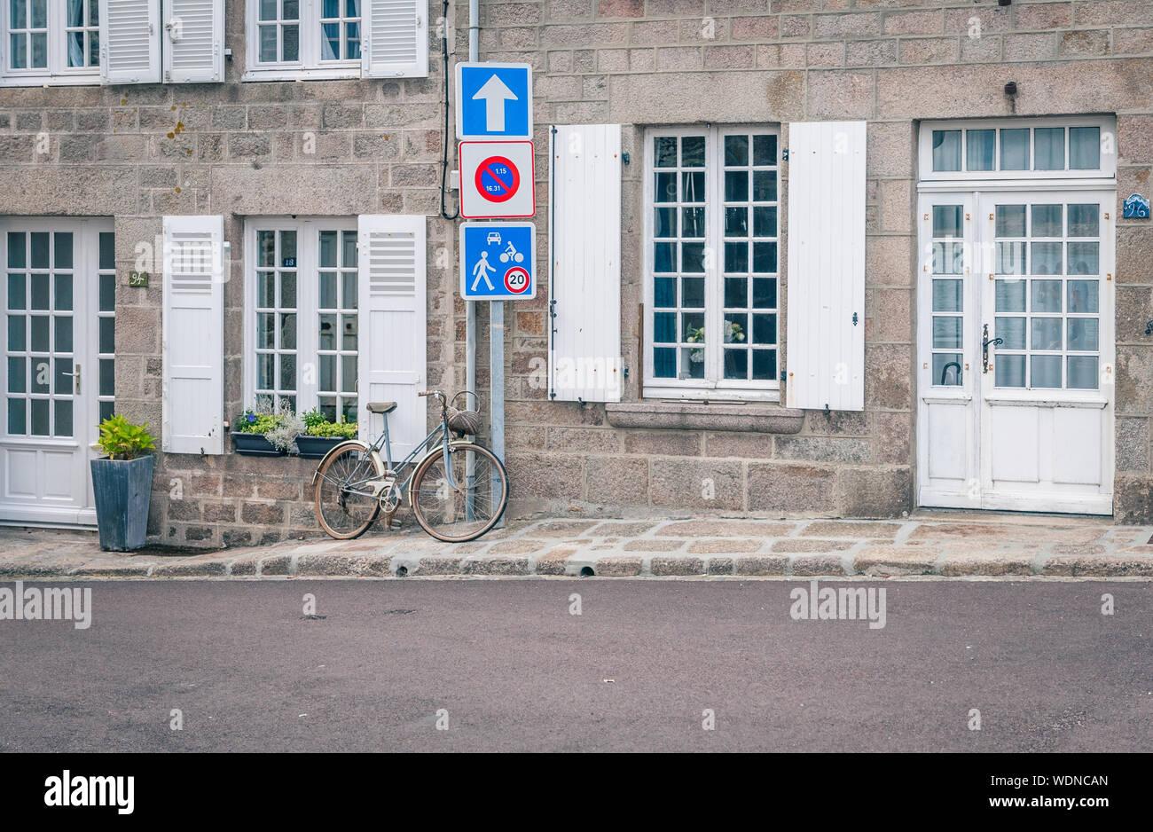 Barfleur Foto de stock