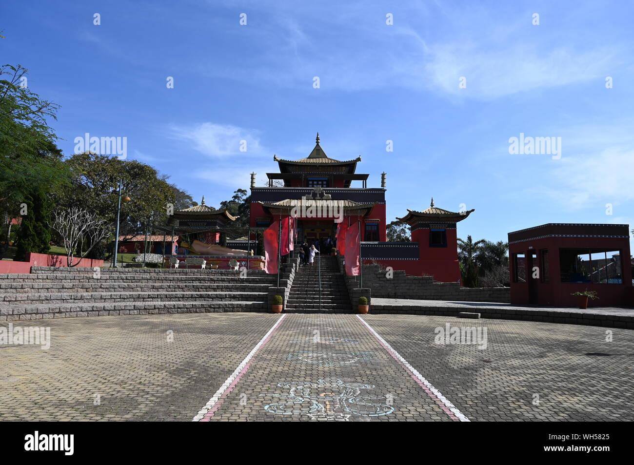 Templo Budhist Foto de stock