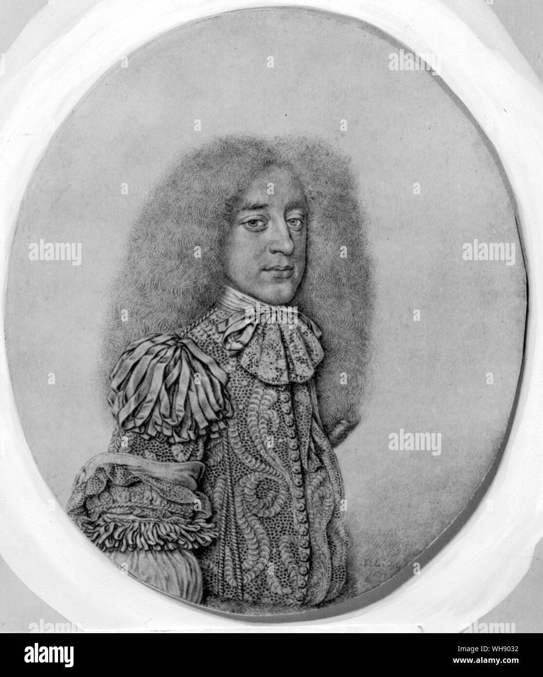 Rochester seguido Buckingham 'el señor de inútil miles' a lo largo de su triste camino Foto de stock