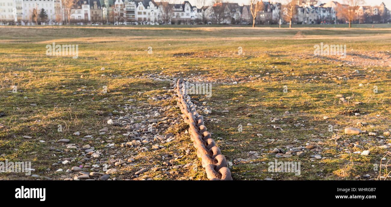 Vista del paisaje Foto de stock