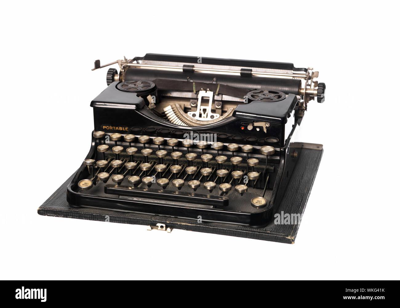 Vintage typewriter Foto de stock