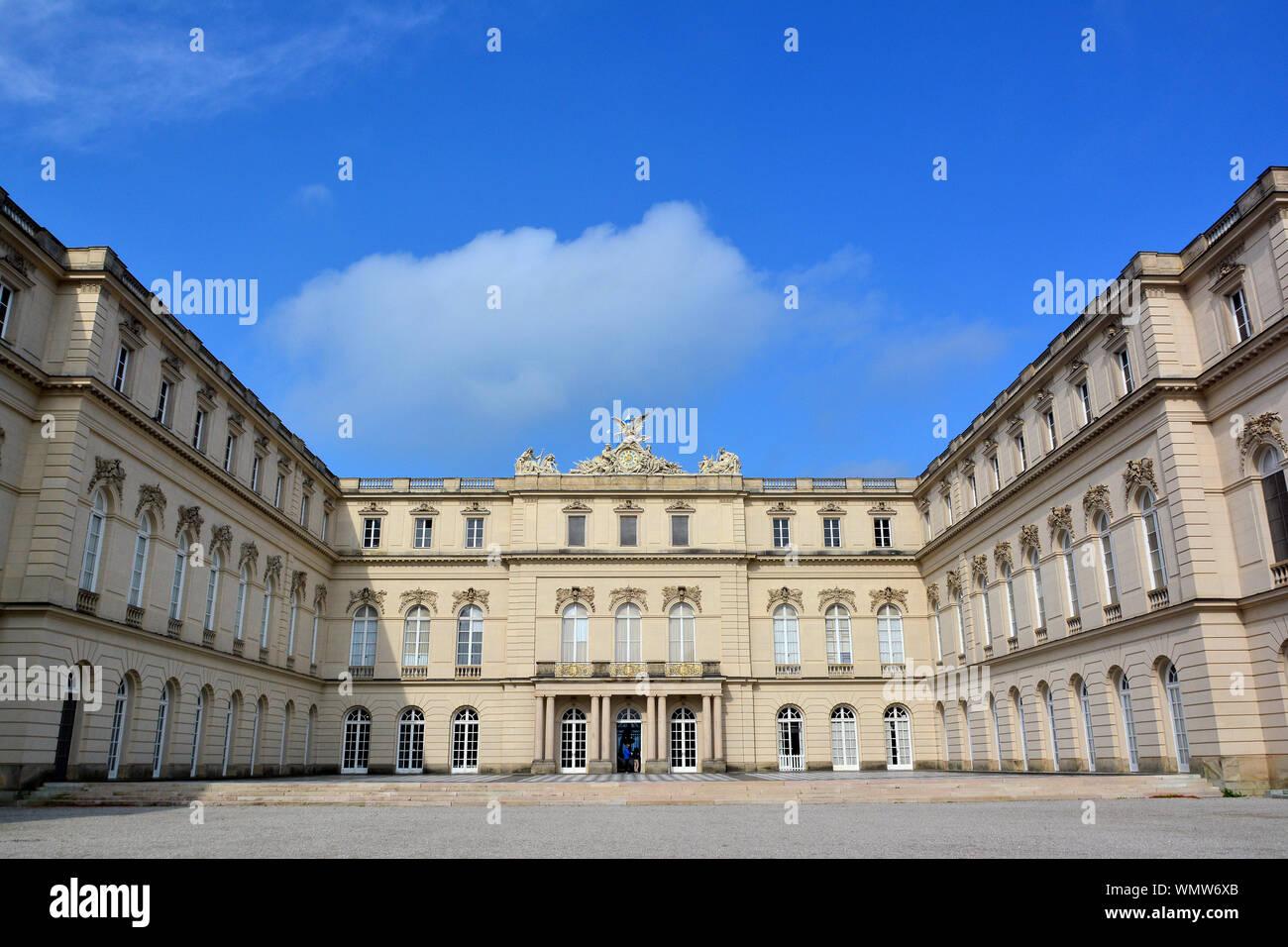 Nuevo palacio Neues Schloss, Herrenchiemsee, Alemania, Europa Foto de stock