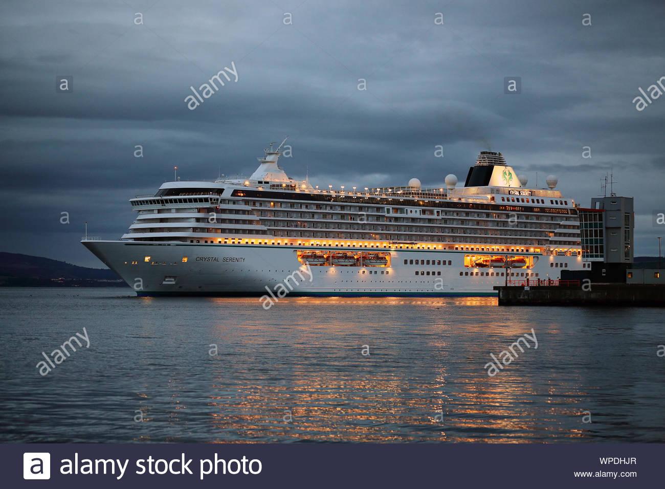 Crystal Serenity crucero Foto de stock