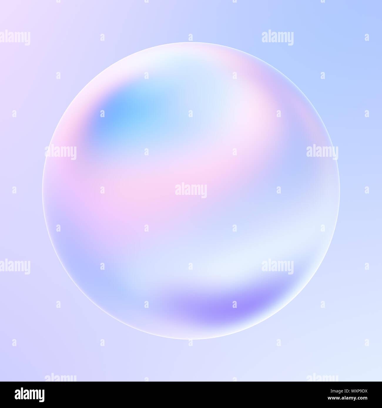 Moderno abstracto líquido holográfica forma 3d elemento de diseño. Cromo brillante metálico forma de pancartas y carteles. 3D rendering. Foto de stock