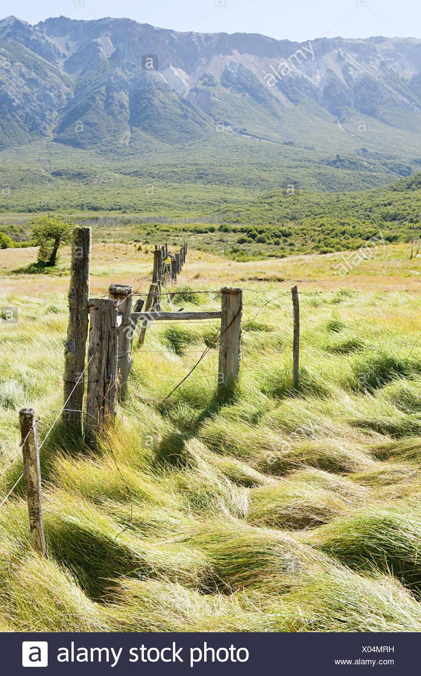 Tranquilo paisaje rural en argentina Imagen De Stock