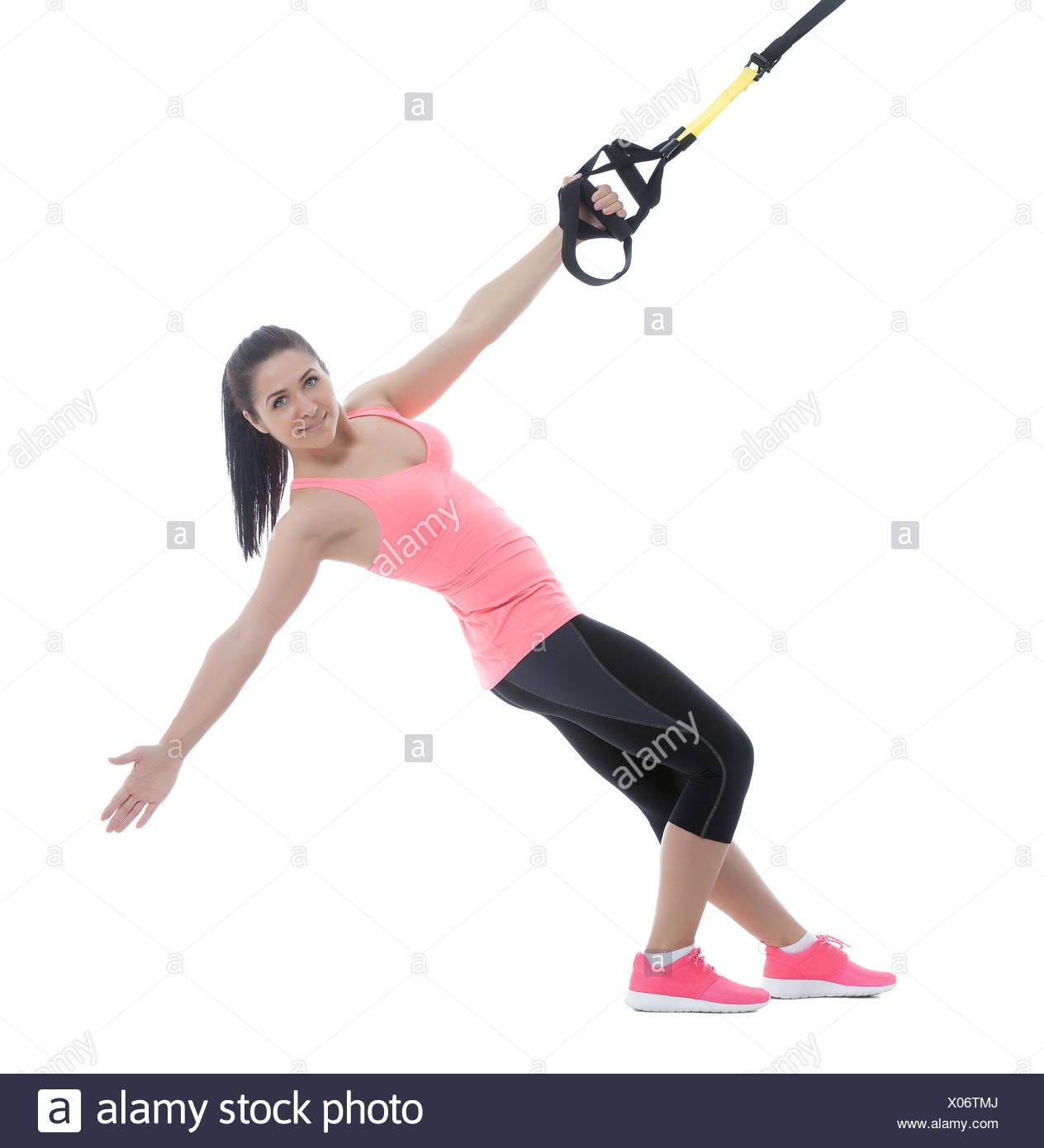 Ejercicios físicos Imagen De Stock