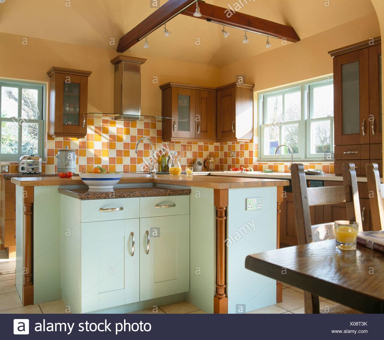 Hermosa Cocina Azulejos De Mosaico Reino Unido Modelo - Ideas de ...