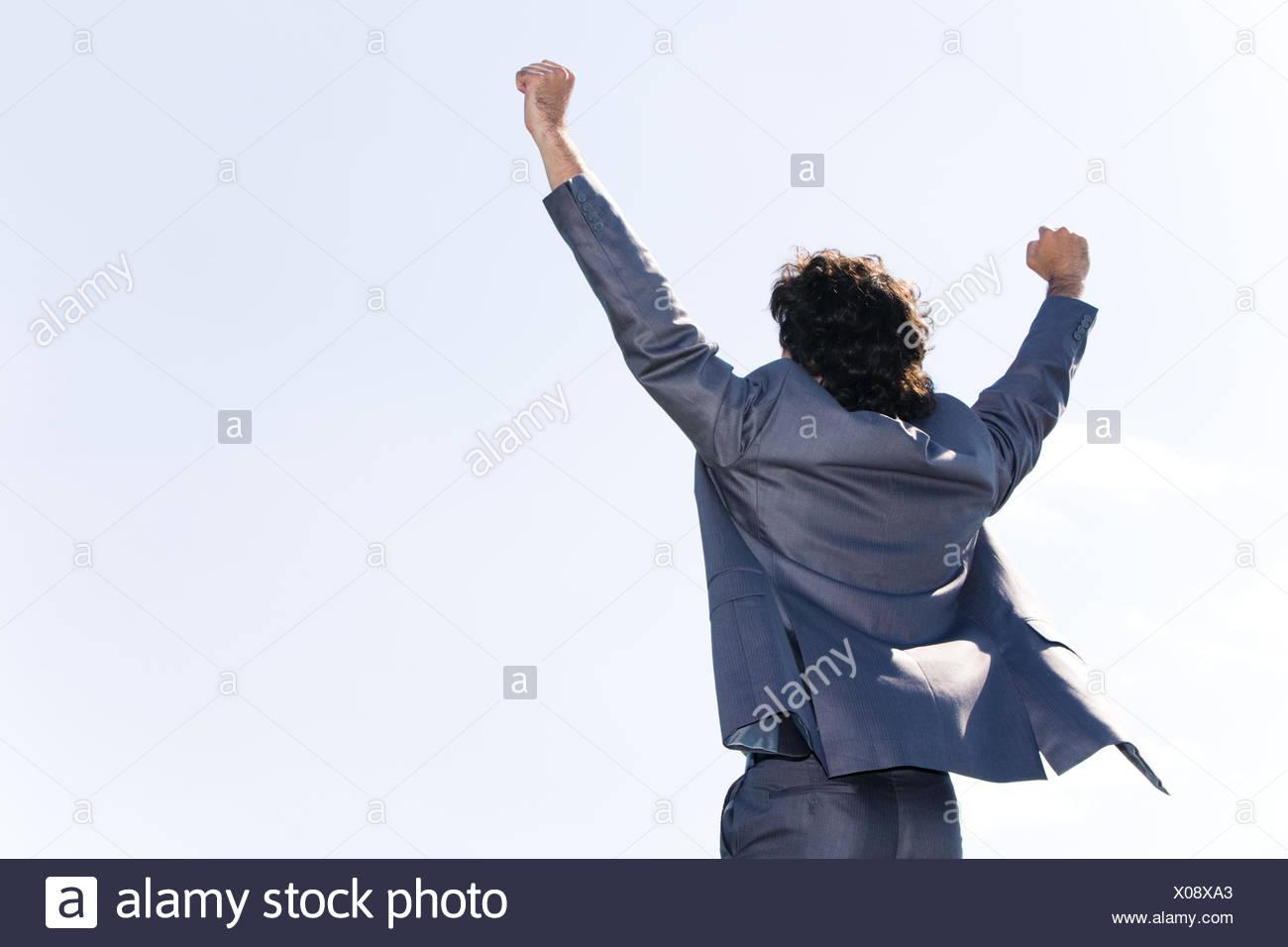 Azul de gestos humanos seres humanos personas personas folk derechos humano aplazamiento DE MOVIMIENTO movimiento exitoso movimiento hacia arriba Imagen De Stock