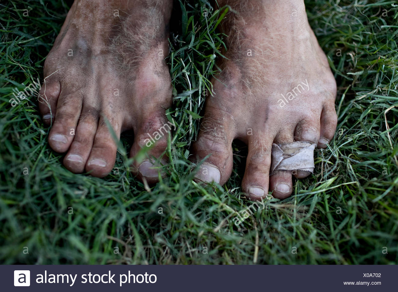 Dirty Feet And Toes Imágenes De Stock & Dirty Feet And Toes Fotos De ...