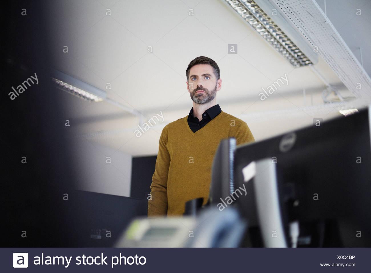 Empresario casual en Office Imagen De Stock