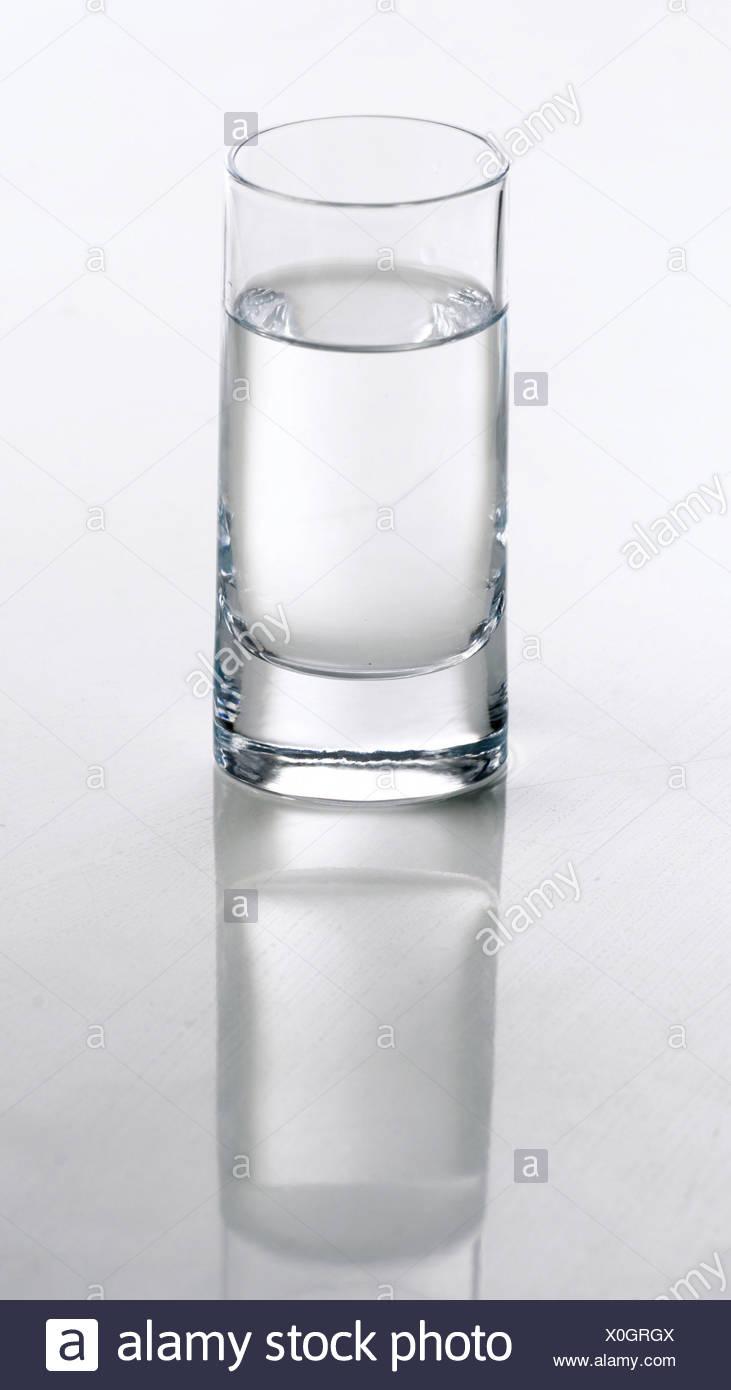 Vaso de agua Imagen De Stock