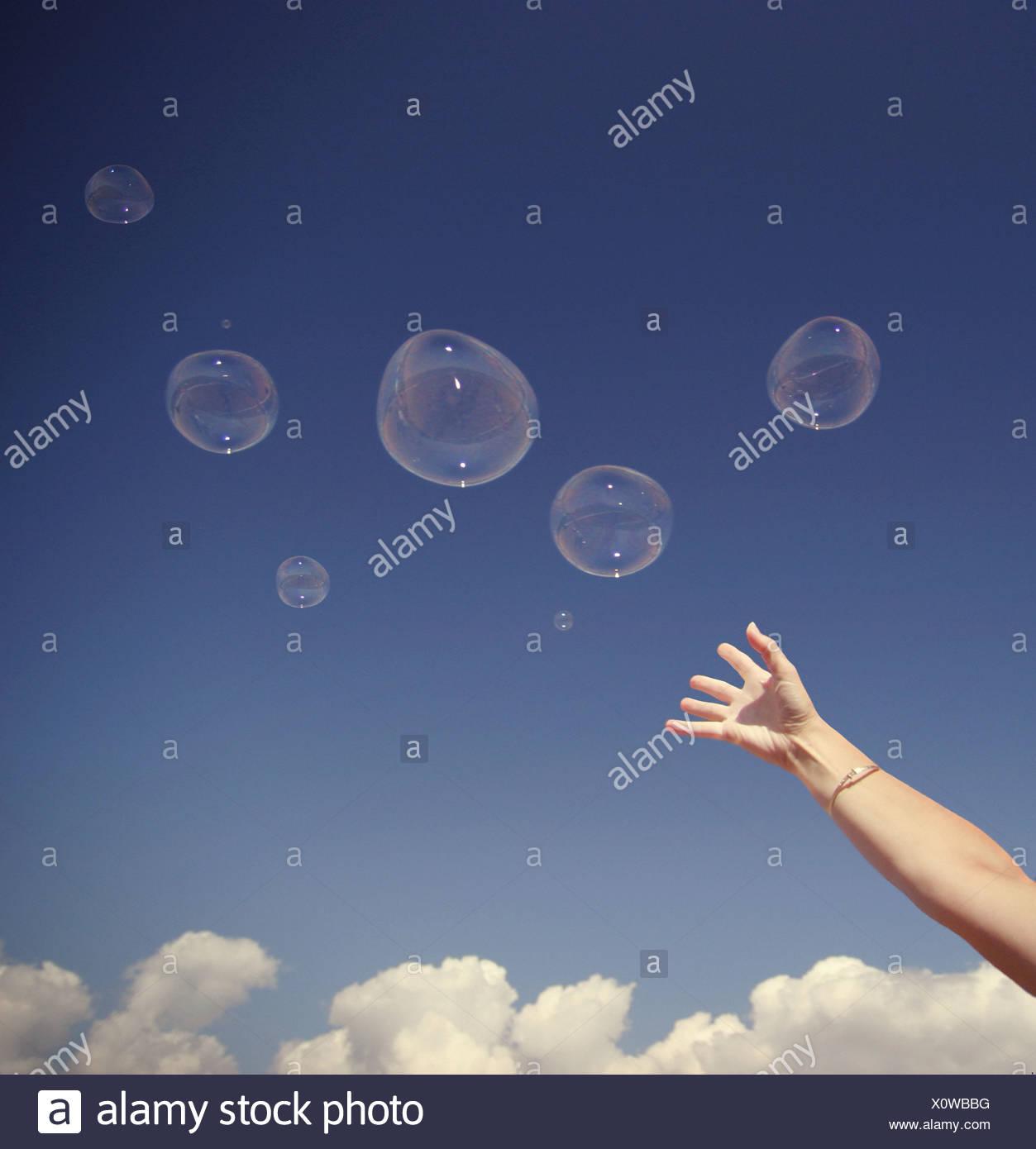 burbujas 2 Imagen De Stock
