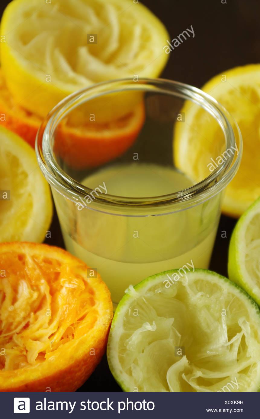 frutas cítricas Foto de stock