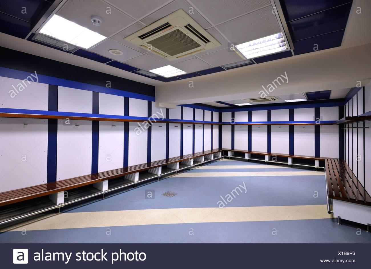 Vestuarios Para El Equipo Visitante El Estadio De Futbol