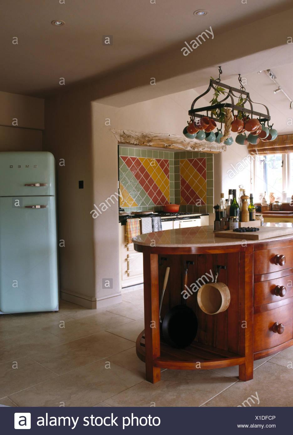 Perfecto Cocinas Azules Uk Ideas Ornamento Elaboración Festooning ...