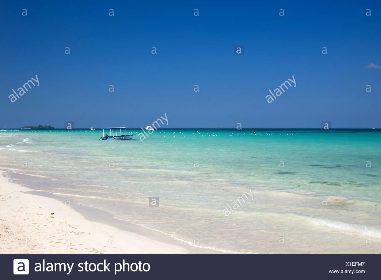 Jamaica, Negril, Seven Mile Beach Foto de stock