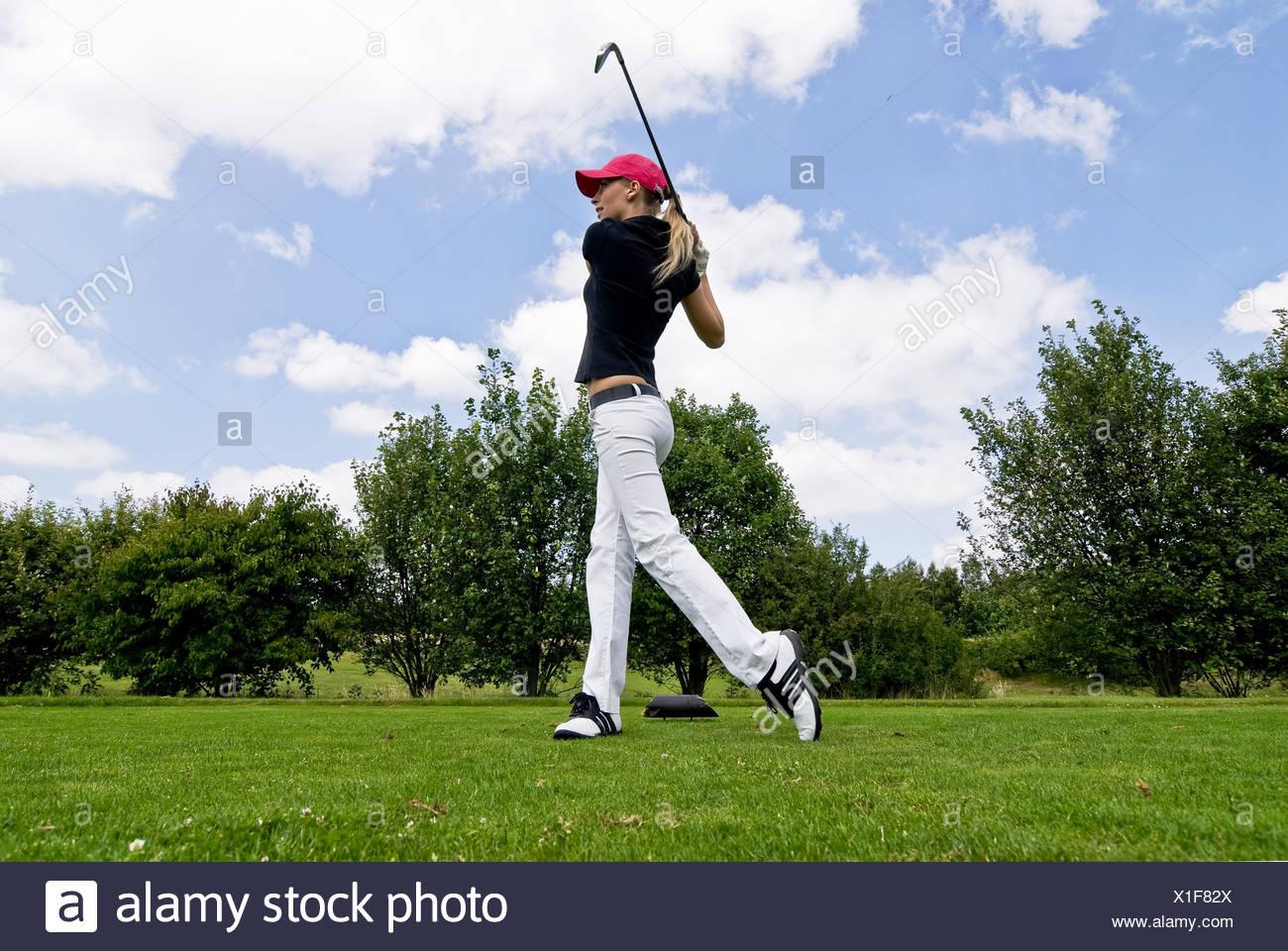 jugador de golf Imagen De Stock