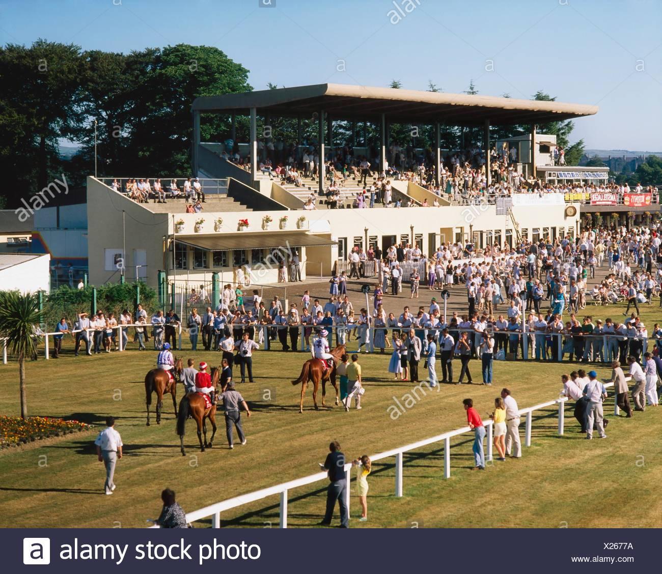 Las carreras de caballos, el Hipódromo de Killarney, Kerry, Irlanda Co Imagen De Stock