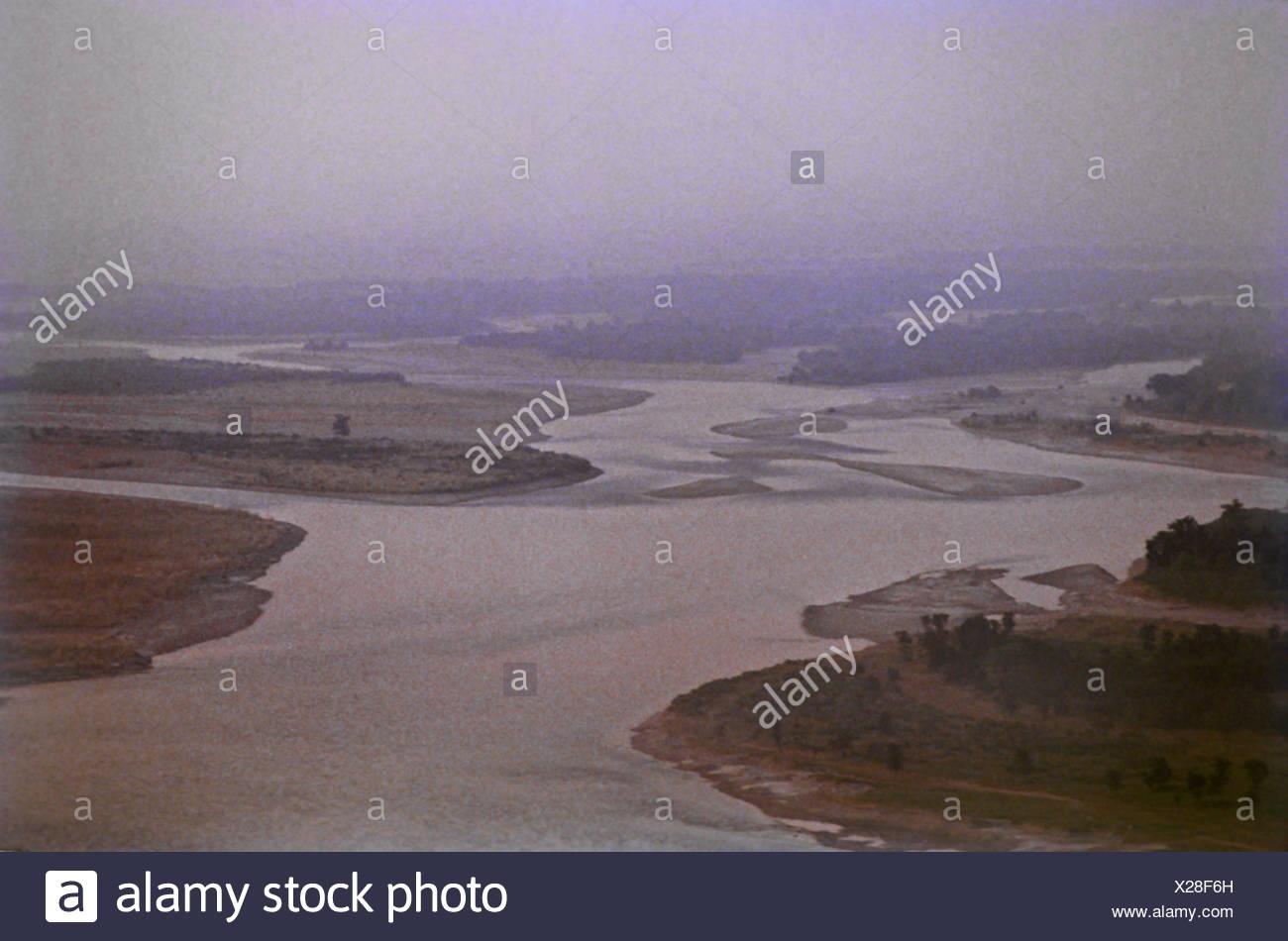Vista del Ganges Imagen De Stock