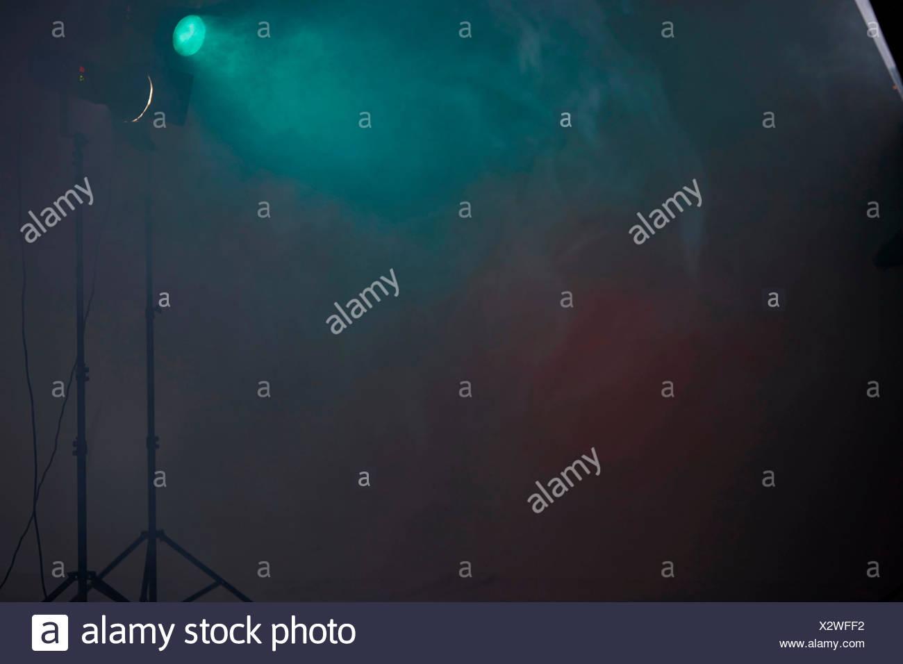 Resumen, humo, efectos, ilustración Imagen De Stock