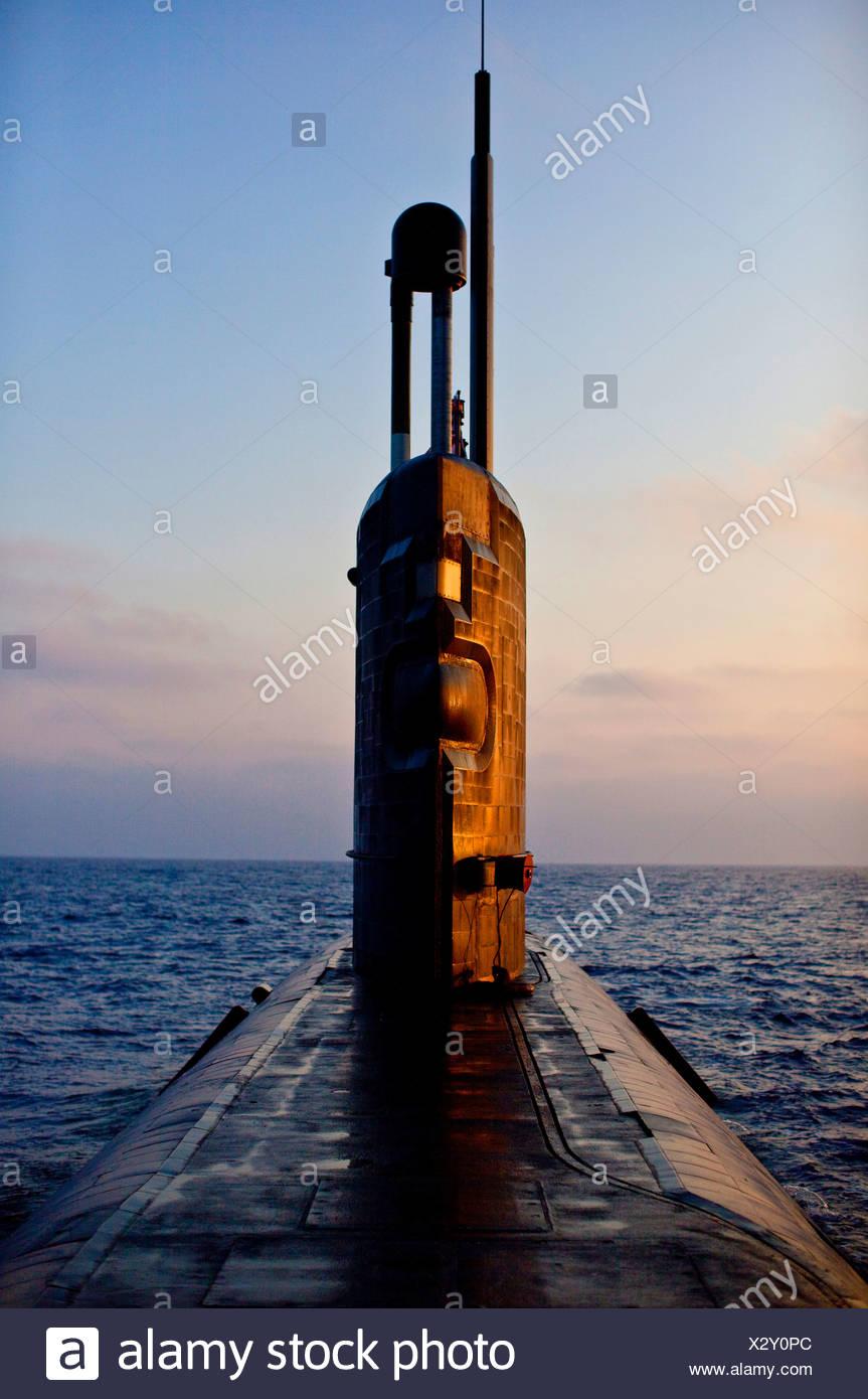 Submarino nuclear HMS Talent, Egipto Imagen De Stock