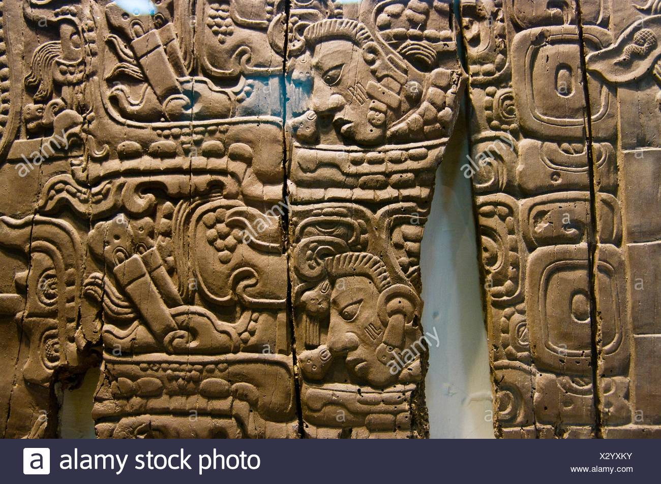 Guatemala dintel de madera del templo iv de tikal la - Dinteles de madera ...
