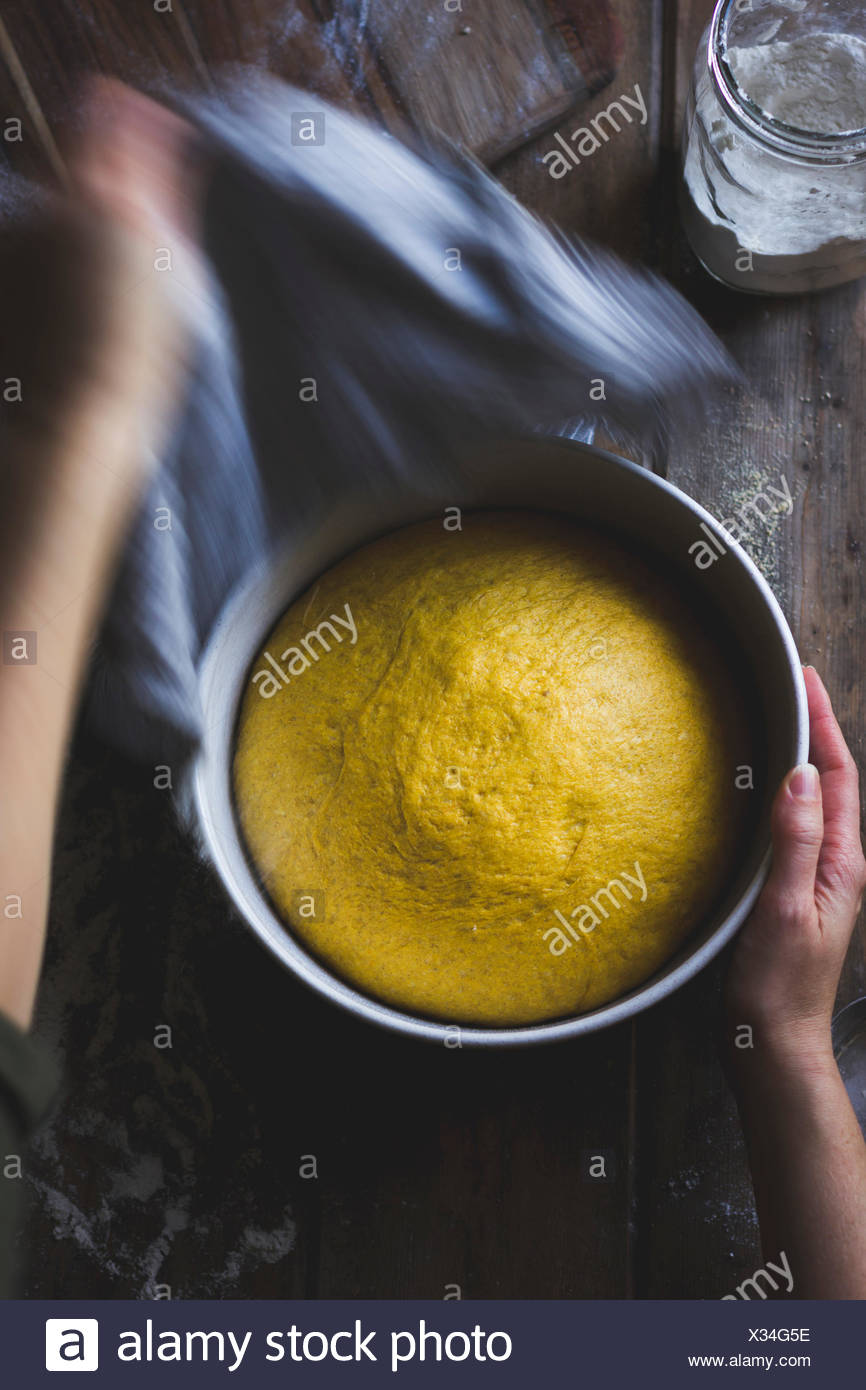 Masa de pan de calabaza Imagen De Stock