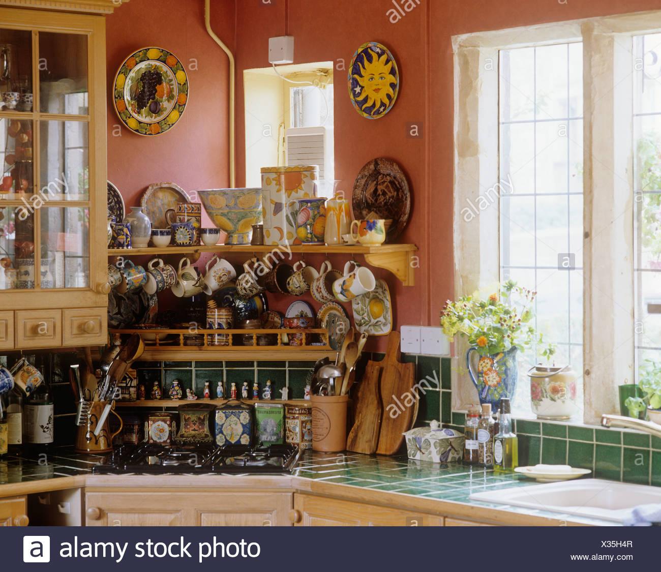 Hermosa Cocina Marroquí Azulejos Reino Unido Imagen - Ideas de ...