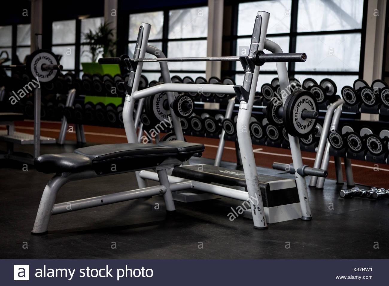 Máquina de pesas Imagen De Stock