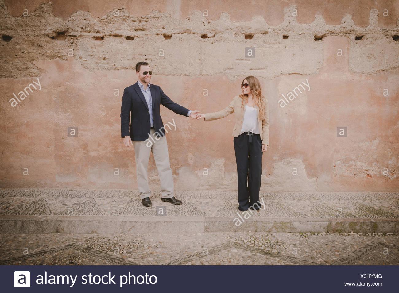 Las manos de la pareja Imagen De Stock