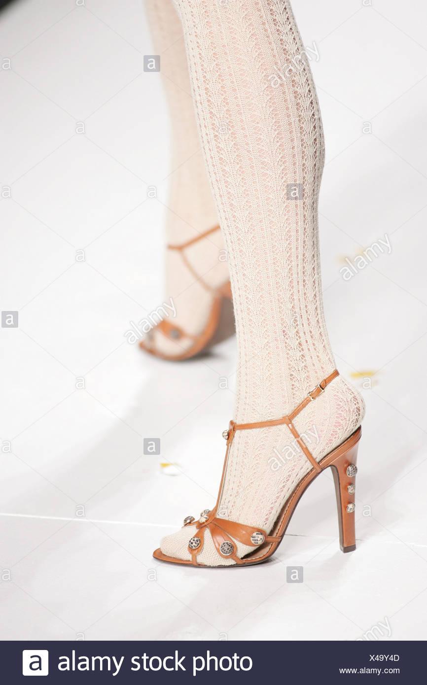 Imágenes White Strapppy High Heels Stockamp; De b76yfg