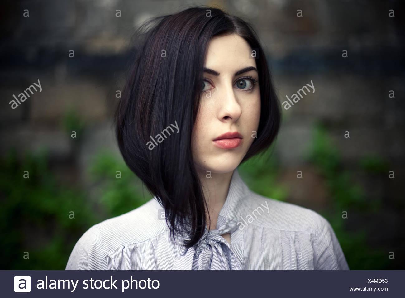 maravilla chica Foto de stock