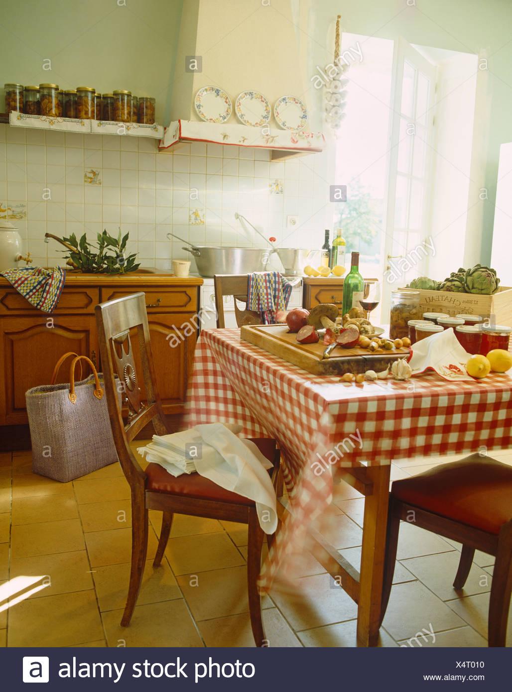 Excelente País Francés Cocinas Fotos Componente - Como Decorar la ...
